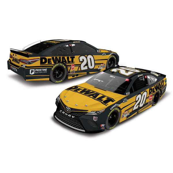 Christopher Bell 1:24 ELITE 2021 DeWalt #20 NASCAR Diecast Car