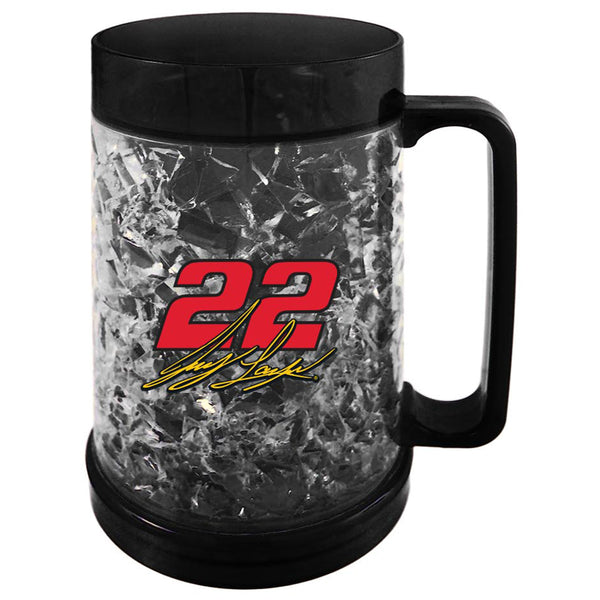 Joey Logano 2020 16oz Double Wall #22 NASCAR Freezer Mug