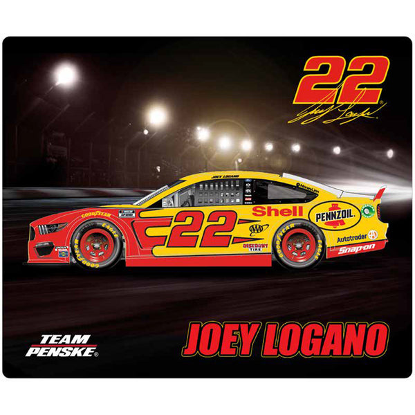 Joey Logano 2020 Sublimated Shell Pennzoil #22 NASCAR Computer Mousepad
