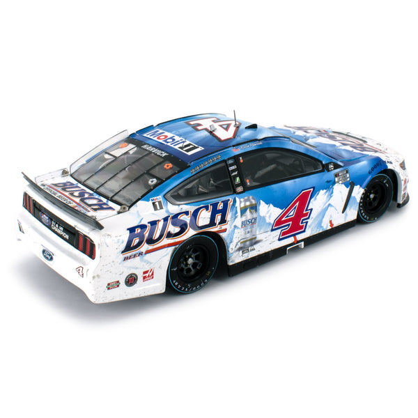 Kevin Harvick ELITE 2020 Darlington Throwback Win Raced Version Busch #4 NASCAR Diecast Car 1:24
