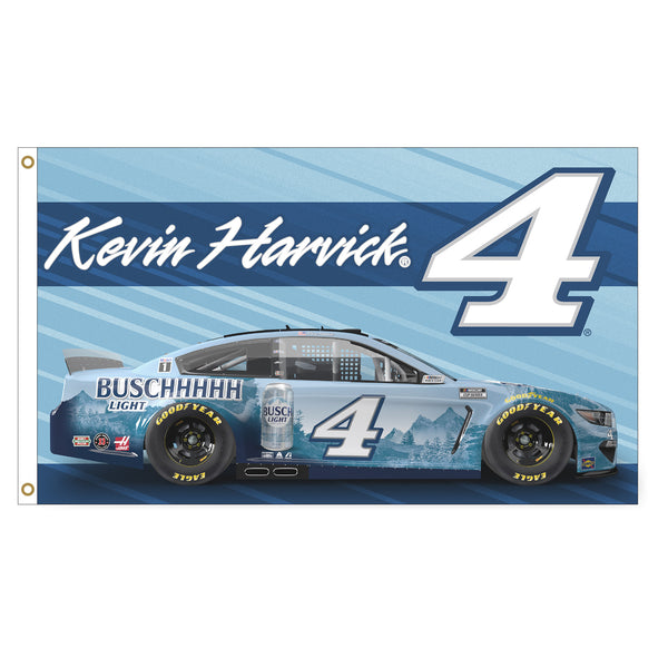 Kevin Harvick 2021 Busch Light #4 Driven NASCAR 3x5 Flag