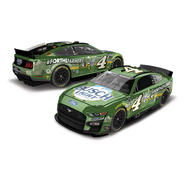 Kevin Harvick Standard 2020 Busch Light #ForTheFarmers #4 NASCAR Diecast Car 1:24