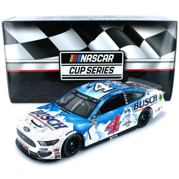 Kevin Harvick Standard 2020 Darlington Throwback Win Raced Version Busch #4 NASCAR Diecast Car 1:24