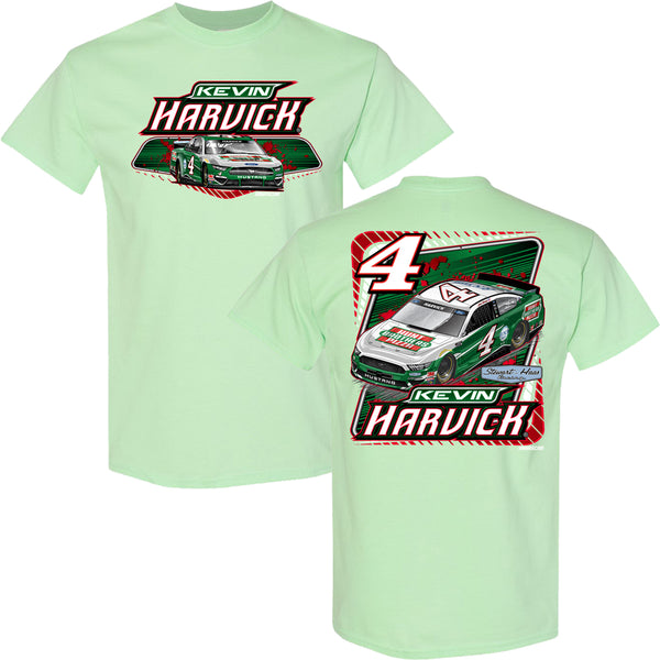 Kevin Harvick 2021 Hunt Brothers Car #4 NASCAR T-Shirt Green
