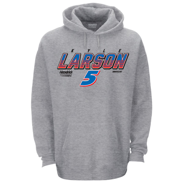 Kyle Larson 2021 Gradient Driver #5 NASCAR Hoodie Gray