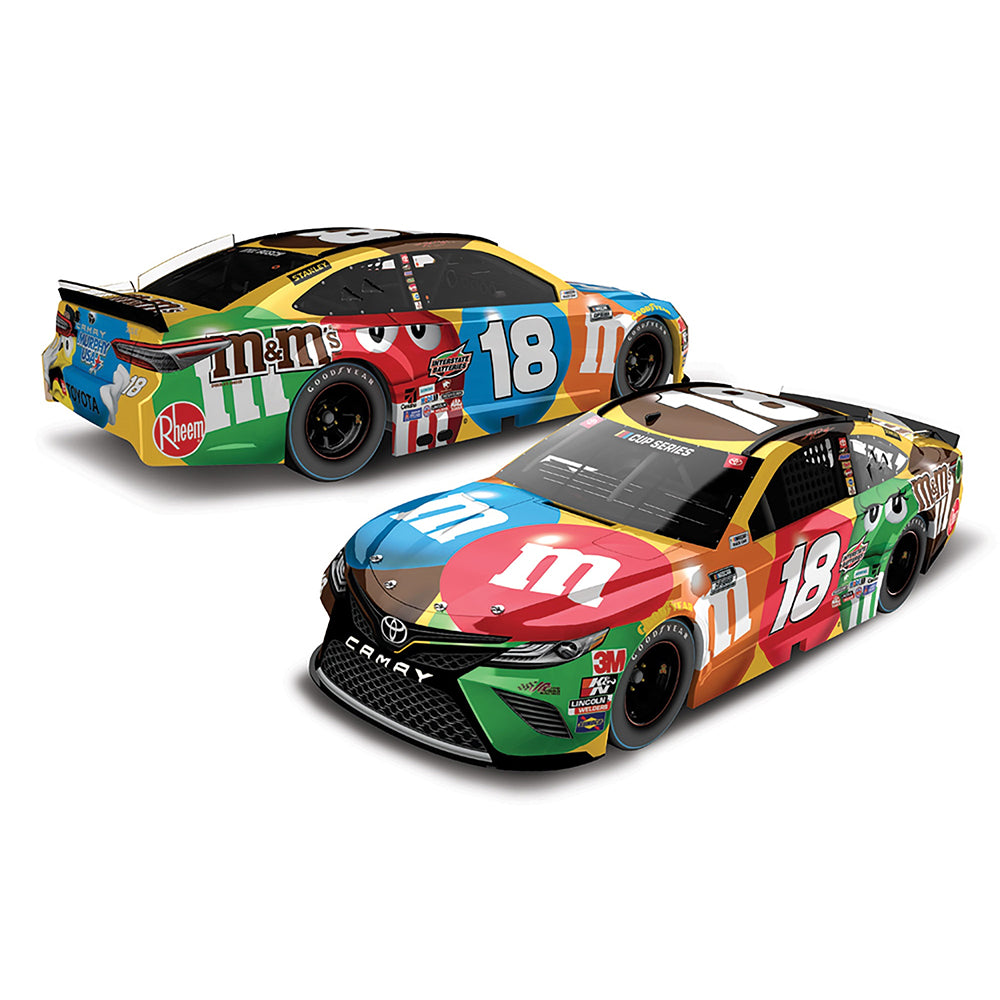 Kyle Busch Standard 2020 Darlington Throwback M&M's #18 NASCAR Diecast Car 1:24