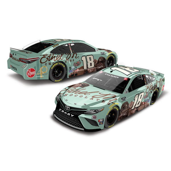Kyle Busch 1:24 ELITE 2021 Ethel M Chocolates #18 NASCAR Diecast Car