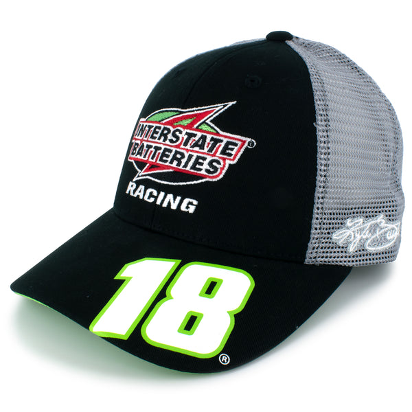 Kyle Busch 2021 Interstate Batteries #18 NASCAR Team Hat