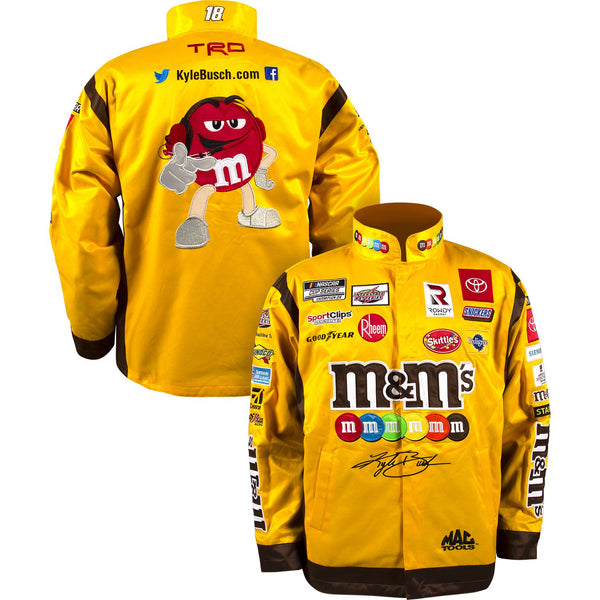 Kyle Busch 2021 M&M's Uniform Pit Crew #18 NASCAR Jacket