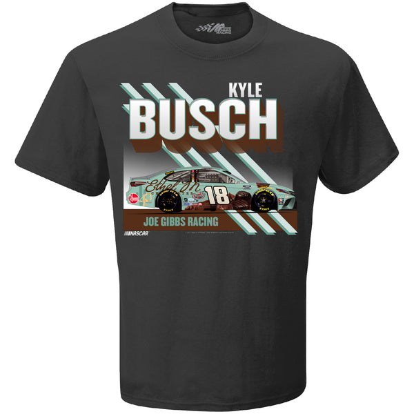 Kyle Busch 2021 Ethel M Chocolates Paint Scheme #18 NASCAR T-Shirt Gray