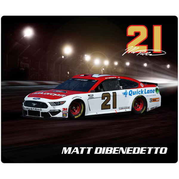 Matt DiBenedetto 2020 Sublimated Motorcraft #21 NASCAR Computer Mousepad