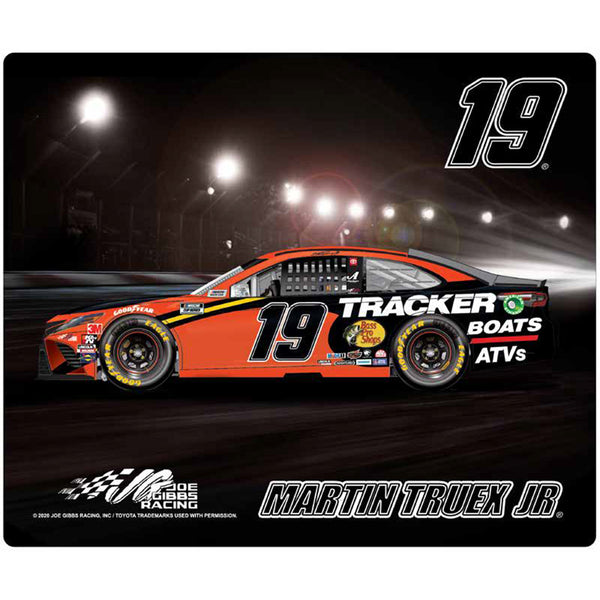 Martin Truex Jr 2020 Sublimated Bass Pro Shops #19 NASCAR Computer Mousepad