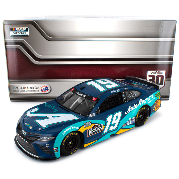 Martin Truex Jr Autographed 2020 Auto-Owners Sherry Strong #19 NASCAR Diecast Car 1:24