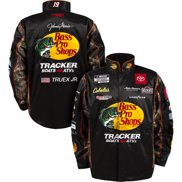 Martin Truex Jr 2021 Bass Pro Shops Uniform Pit Crew #19 NASCAR Jacket