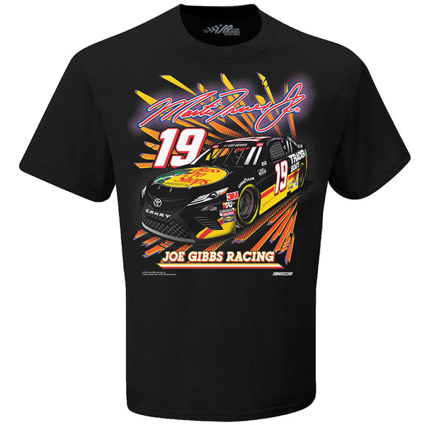Martin Truex Jr 2020 Darlington Throwback Bass Pro Shops #19 NASCAR T-Shirt Black