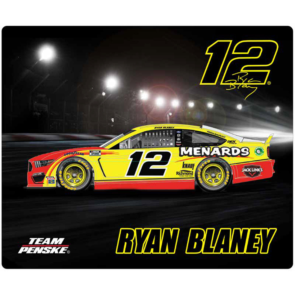 Ryan Blaney 2020 Sublimated Menards #12 NASCAR Computer Mousepad