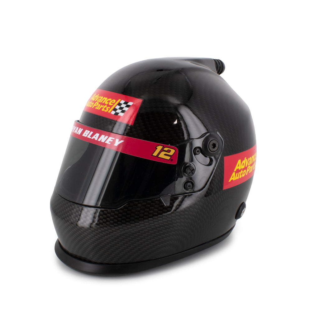 Ryan Blaney Collectible Advance Auto Parts Replica #12 NASCAR Mini Helmet