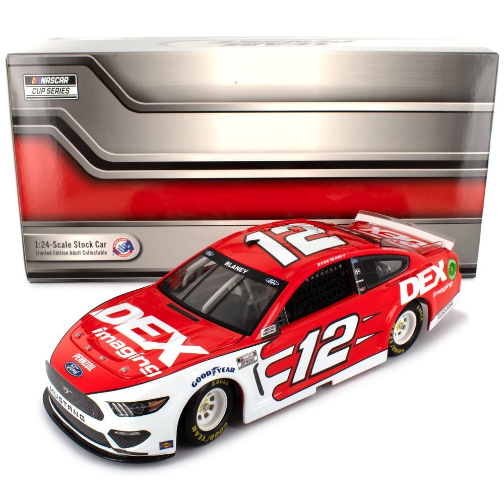 Ryan Blaney Standard 2020 DEX Imaging #12 NASCAR Diecast Car 1:24