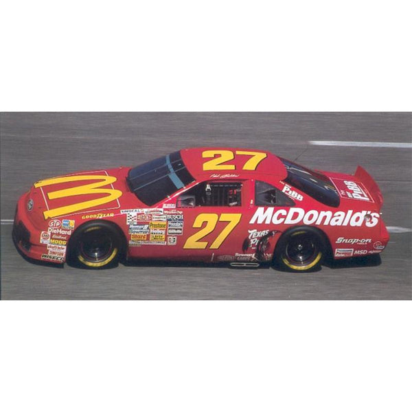 Ross Chastain 1:24 Color Chrome 2021 McDonald's Darlington Throwback to Hut Stricklin #42 NASCAR Diecast Car