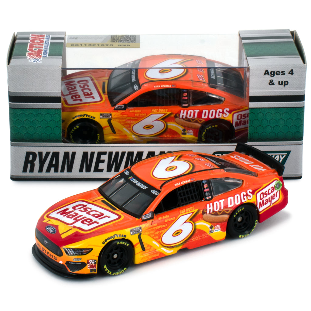 Ryan Newman Standard 2021 Oscar Meyer Hot Dogs #6 NASCAR Diecast Car 1:64