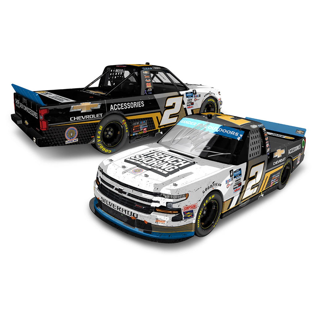 Sheldon Creed 1:24 Autographed 2020 Phoenix Win Championship Raced Version Truck Series Chevy Accessories #2 NASCAR Diecast Car