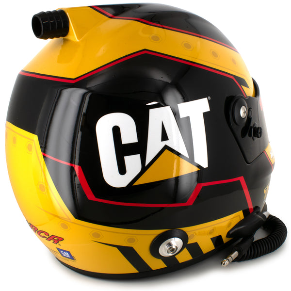 Tyler Reddick Full Size CAT Collectible NASCAR #8 Replica Helmet
