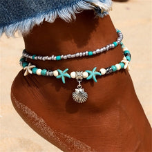 Load image into Gallery viewer, Nomad Shell Beads Anklets