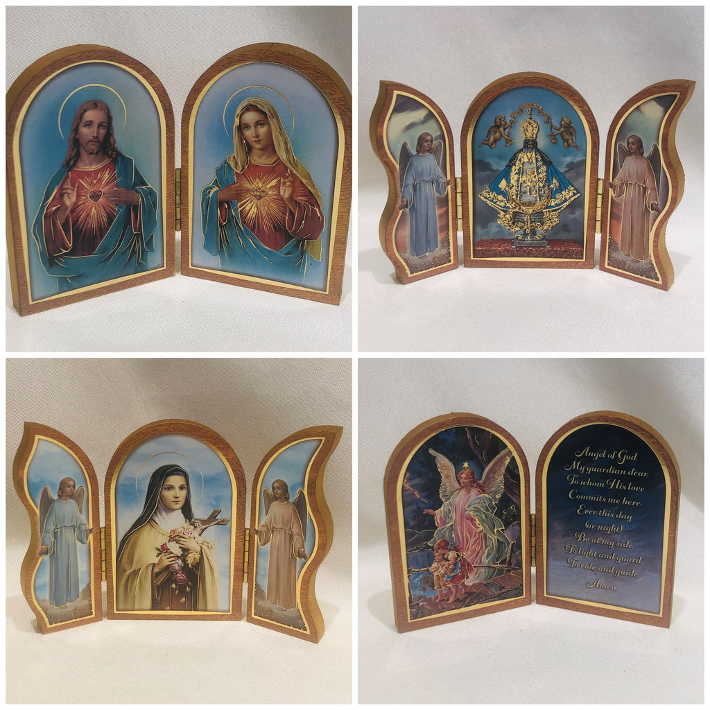 Triptychs and Diptychs