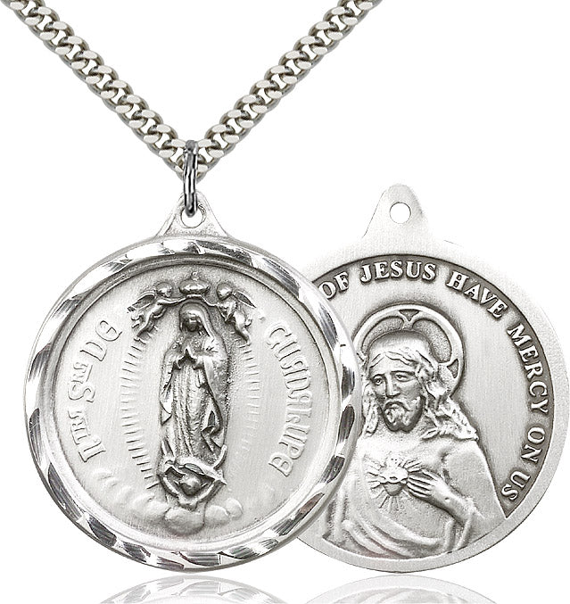 Round Our Lady of Guadalupe Medal