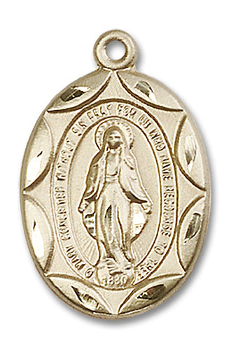 14kt Gold Filled Miraculous Medal