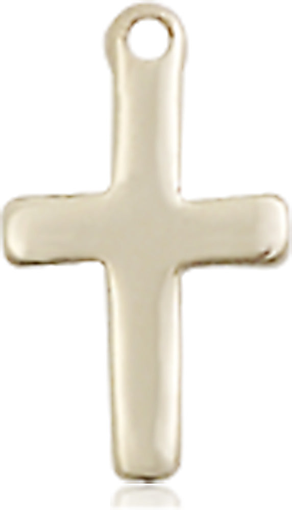 14 karat gold cross medal