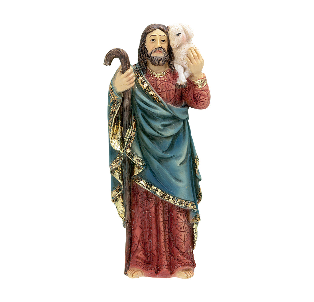 Good Shepherd Resin Statue