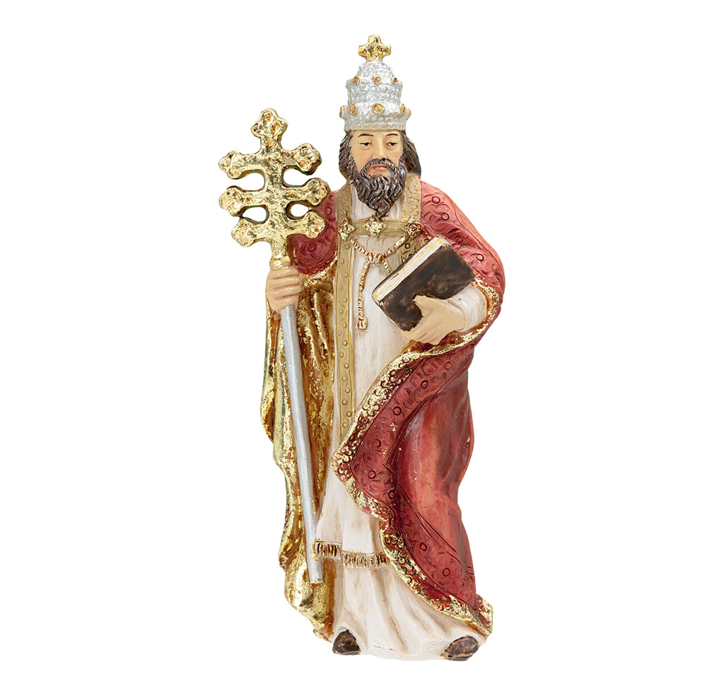 Saint Gregory Resin Statue