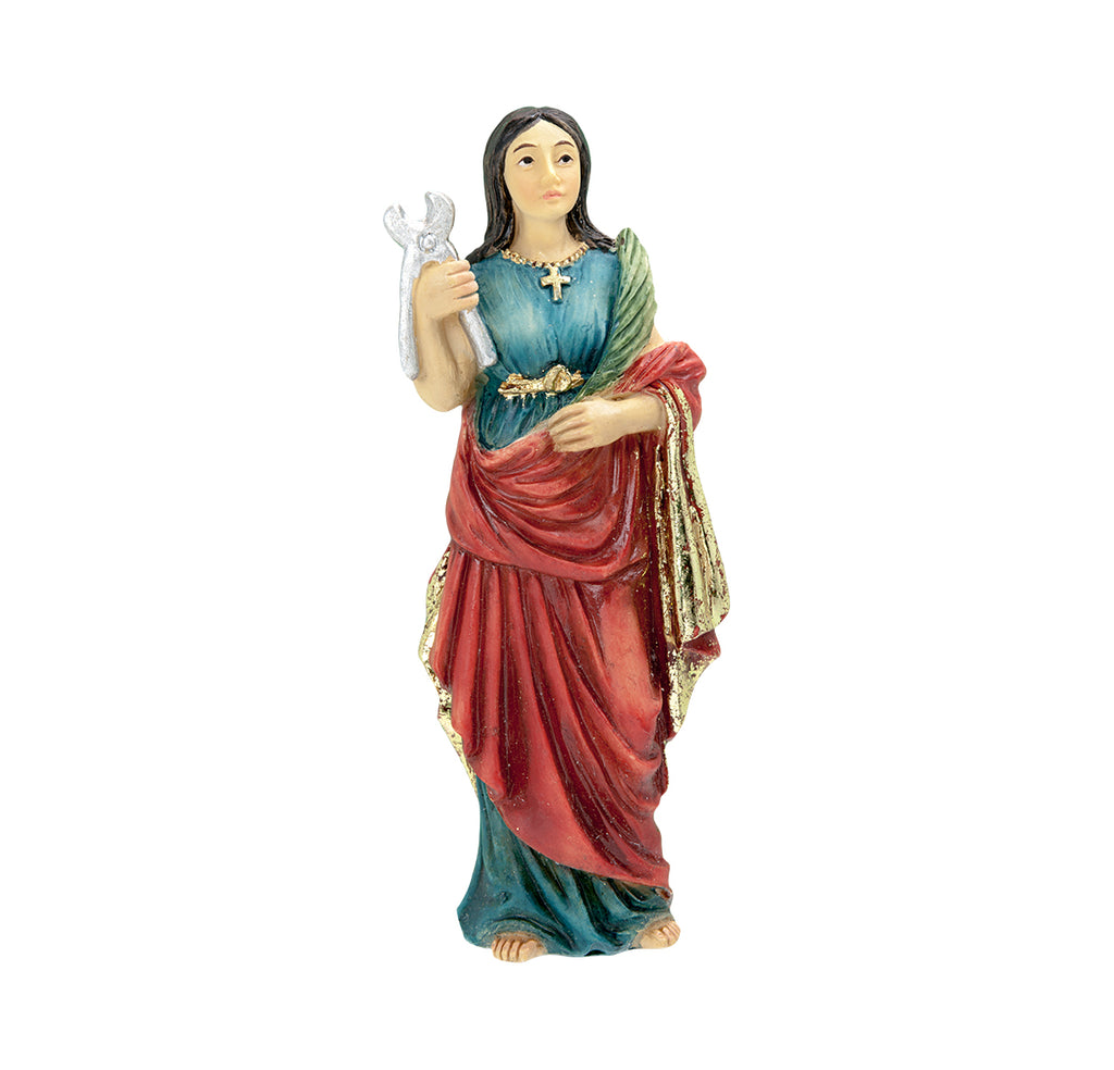 Saint Agatha Resin Statue