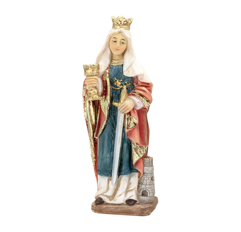 Saint Barbara Resin Statue