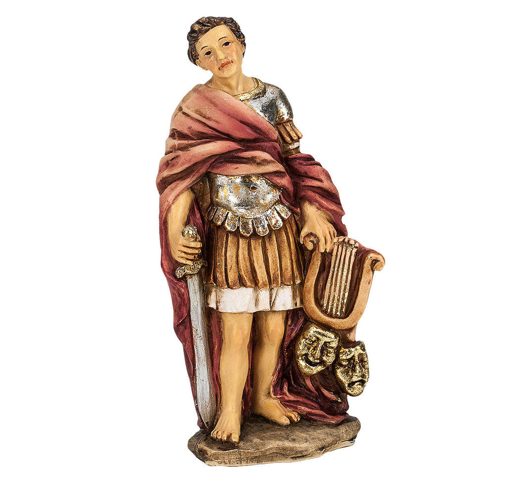 Saint Genesius Resin Statue