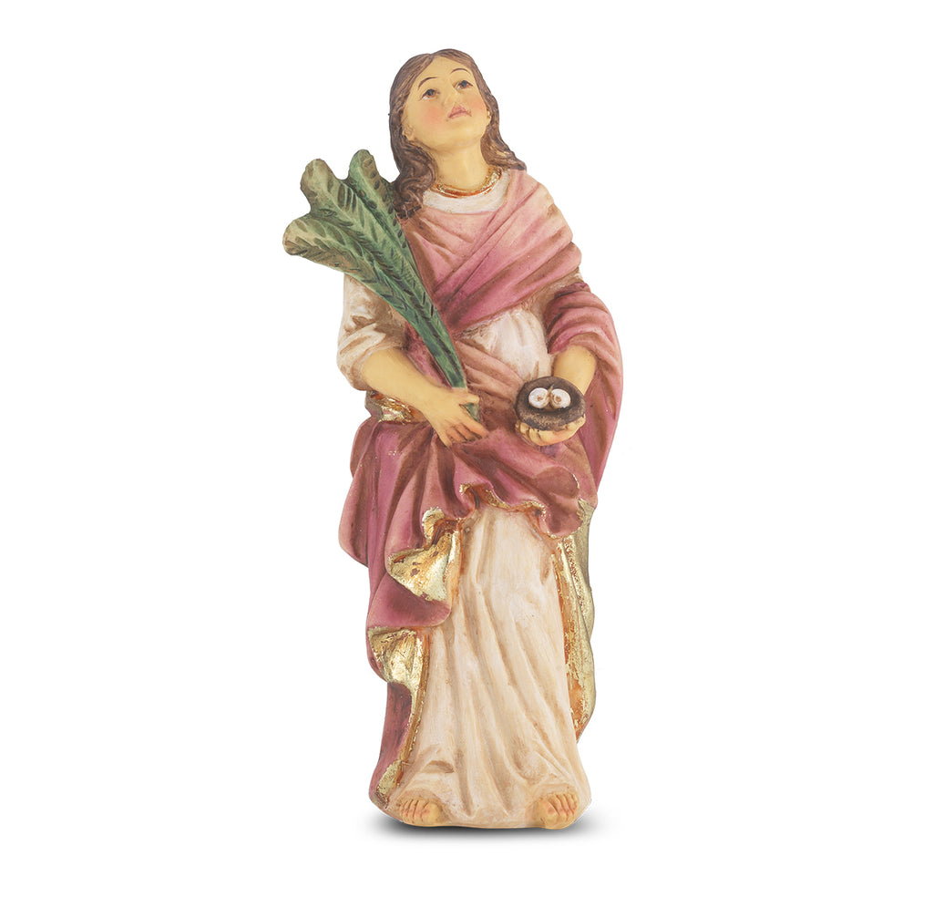 Saint Lucy Resin Statue