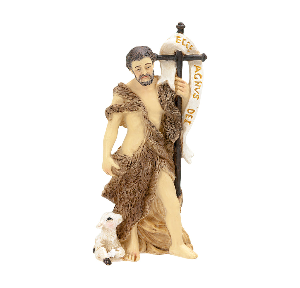 Saint John the Baptist Resin Statue