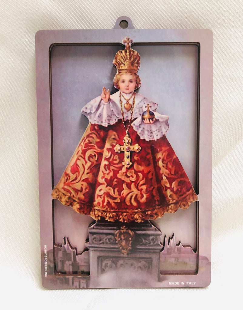 3D Infant Of Praque Plaque