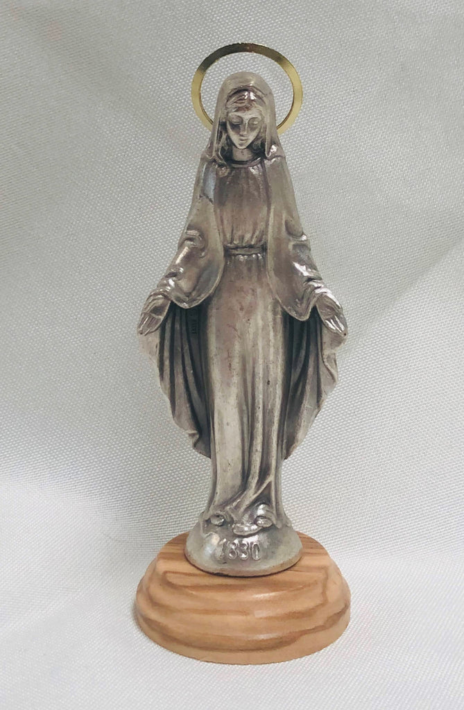 "5"" Our Lady of Grace Statue"