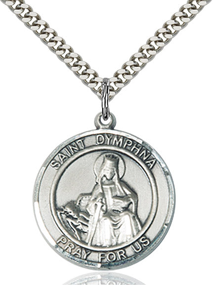 Round St. Dymphna Medal