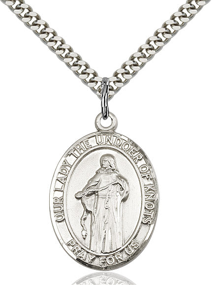 Our Lady Undoer of Knots Medal