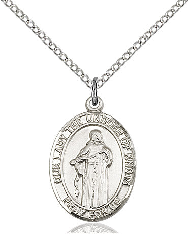 Our Lady Of Knots Pendant