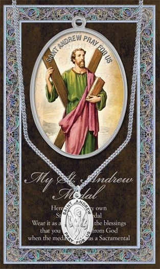 My St. Andrew the Apostle Medal