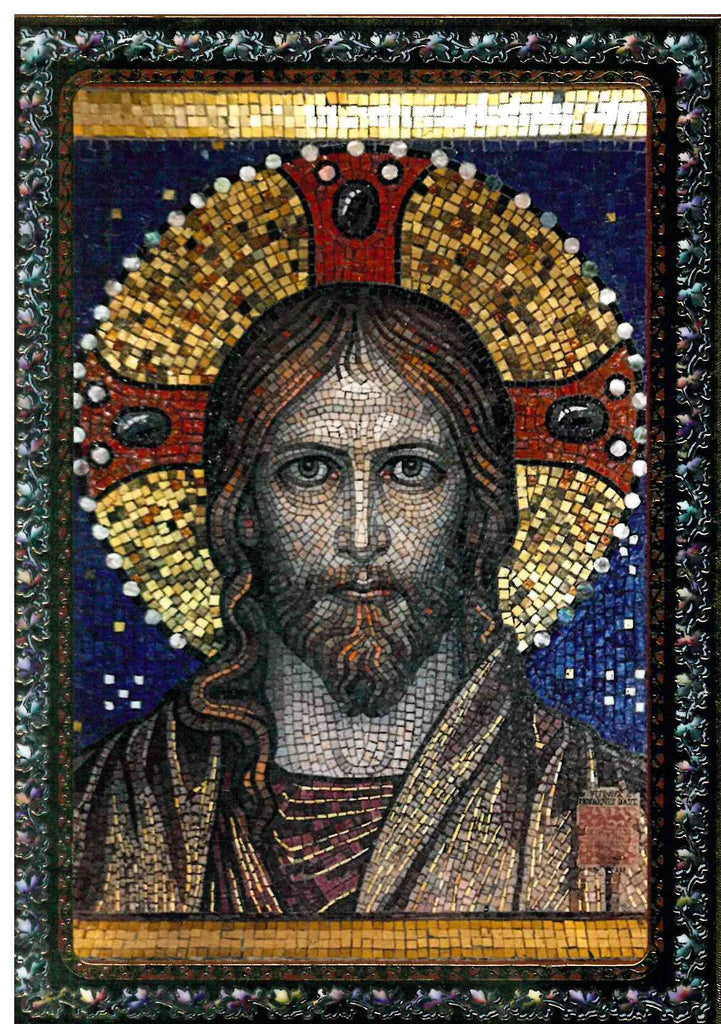 Custom Plaque of Christ Mosaic