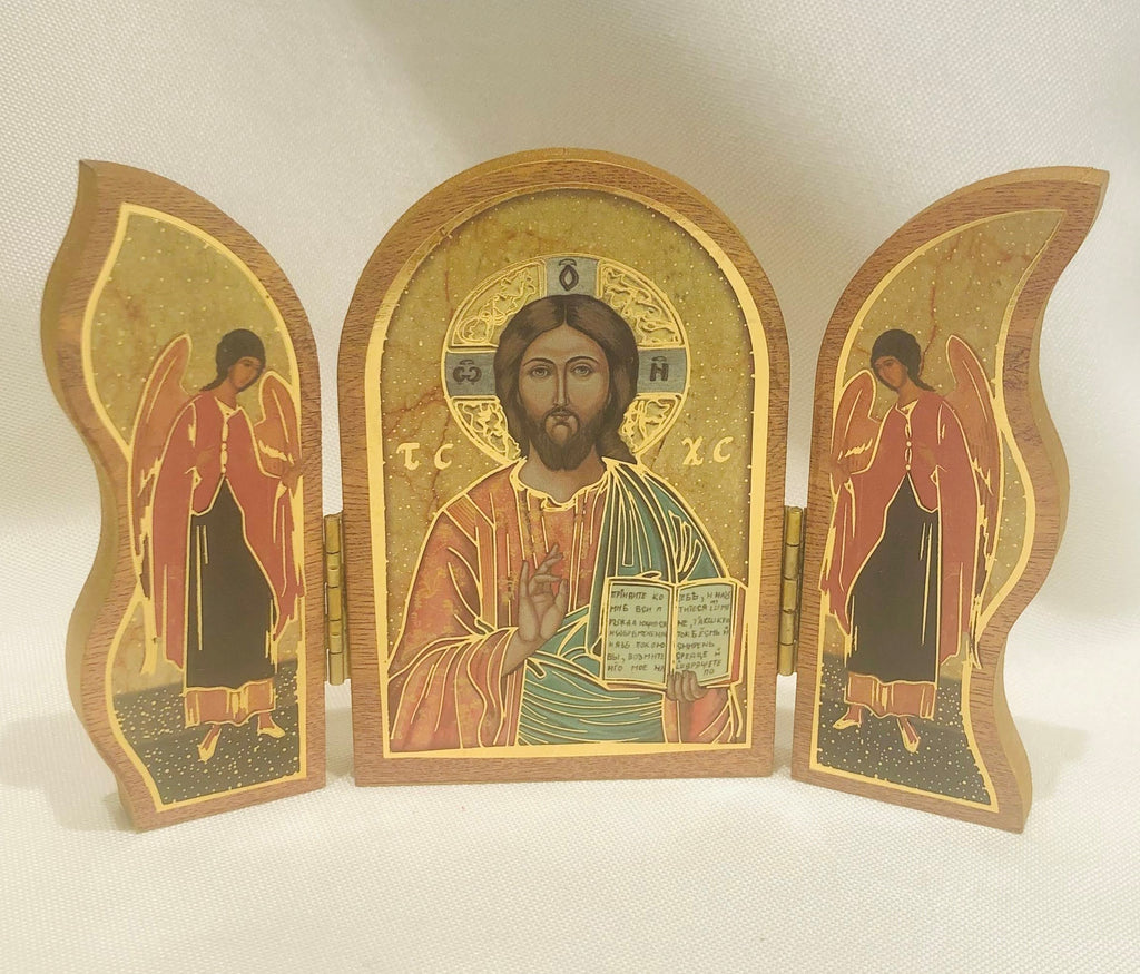Christ the Teacher Triptych