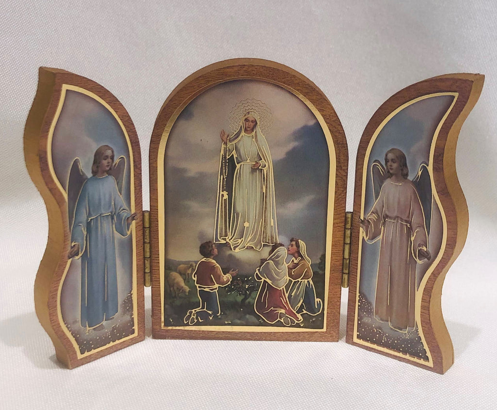 Our Lady of Fatima Triptych