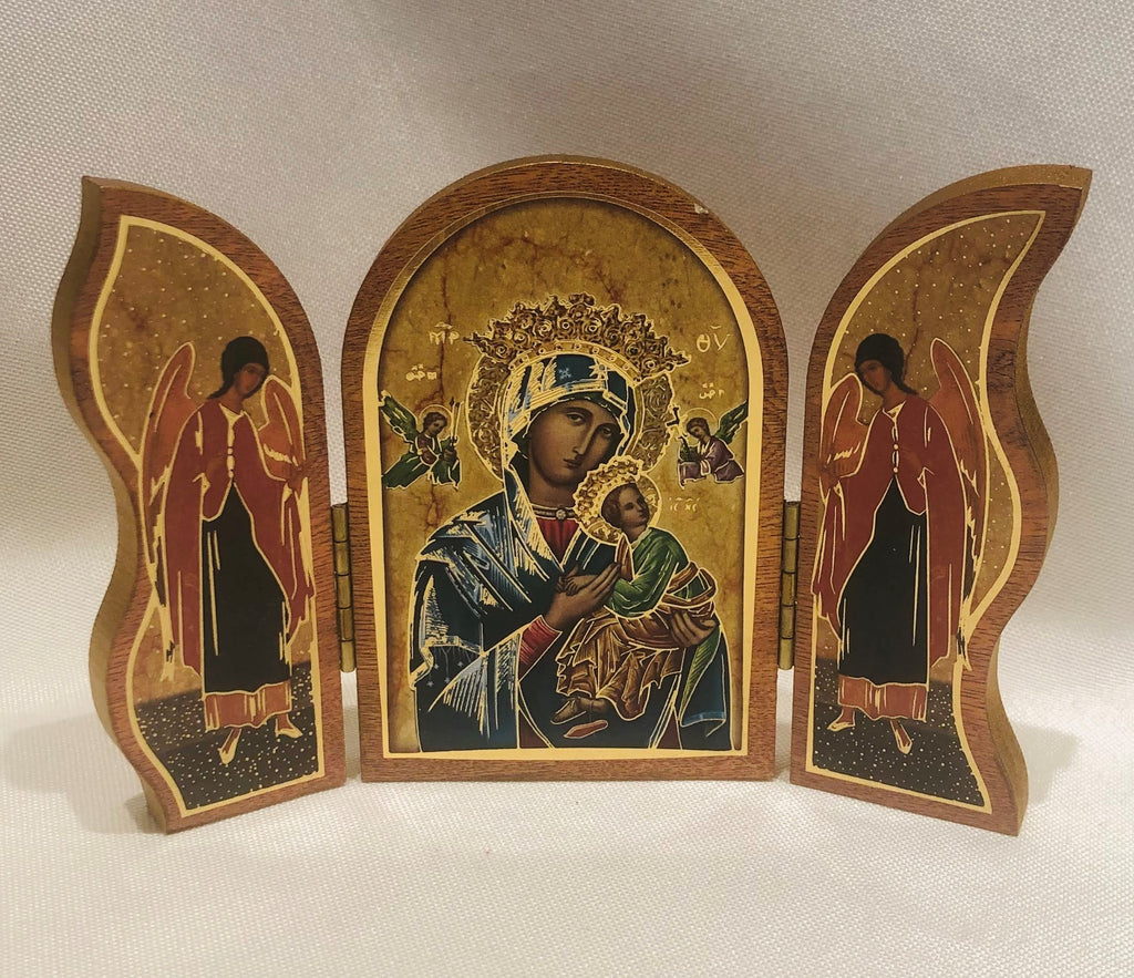 Our Lady of Perpetual Help Triptych