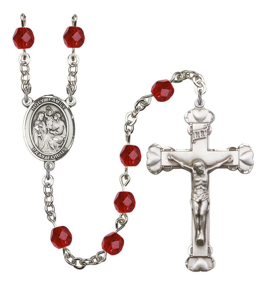 Holy Family Ruby Rosary