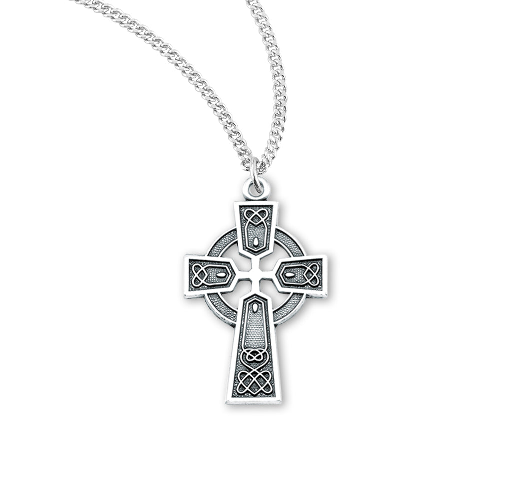 Irish Celtic Cross Pendant